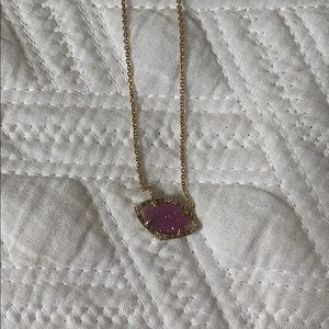 Stella and dot druzzy necklace